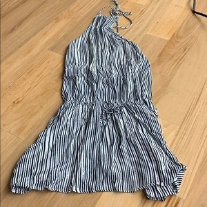 Article Striped Halter Dress